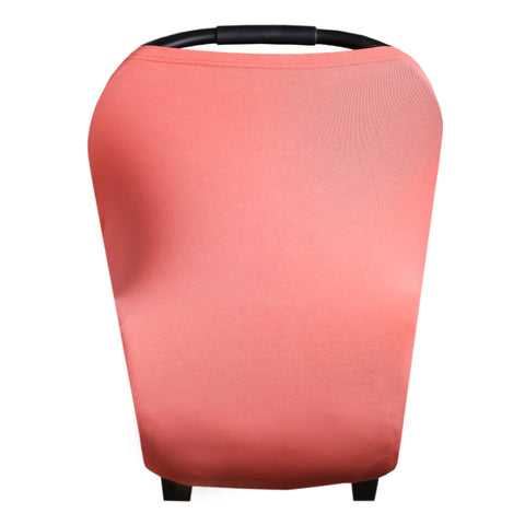 Copper Pearl Lux Stretchy 5-in-1 Multi-Use Cover, Stella Coral