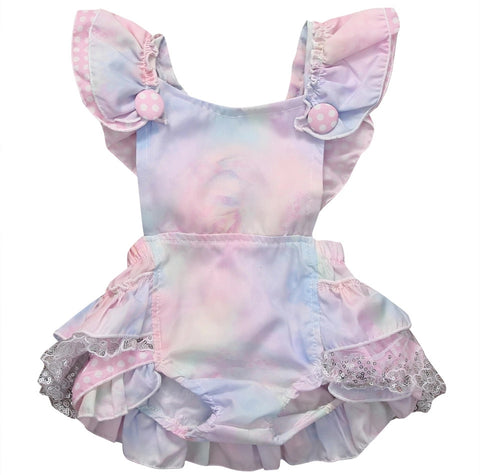 Cotton Candy Ruffled Onepiece