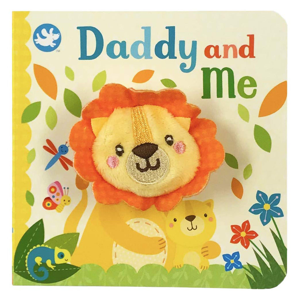 Daddy and Me finger Puppet Book, Front, Board Book