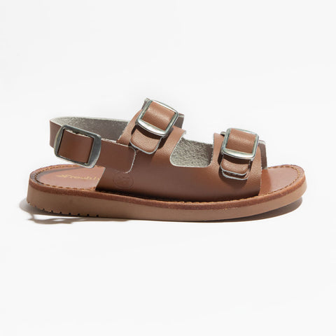 Freshly Picked, Genuine Leather Sandals, Unisex, Cognac Delray