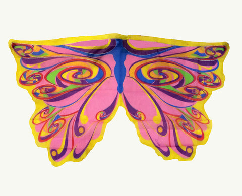 Butterfly/Fairy Soft Fabric Wings, Rainbow