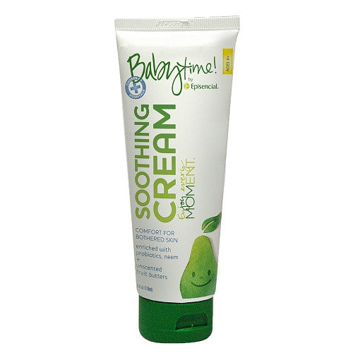 Episencial Baby Time Soothing Cream, 3.4 fl oz