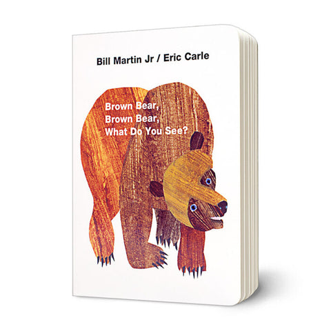 Brown Bear, Brown Bear What Do You See? Board Book - Eric Carle
