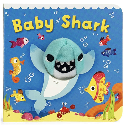 Chunky Mini Finger Puppet Board Book - Little Shark