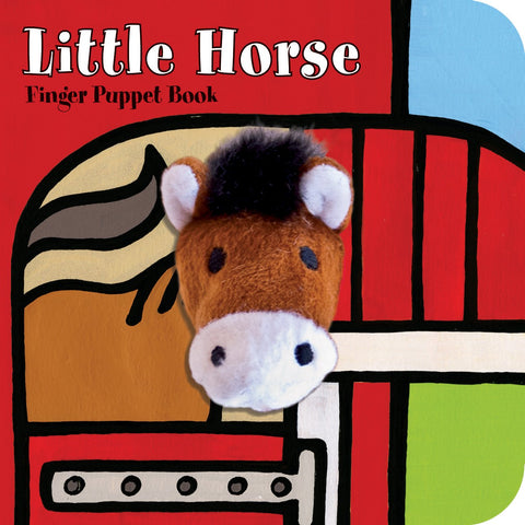 Chunky Mini Finger Puppet Board Book - Little Horse