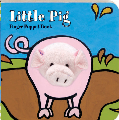 Chunky Mini Finger Puppet Board Book - Little Pig