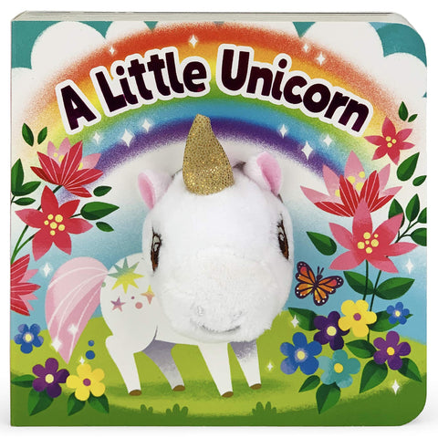 Chunky Mini Finger Puppet Board Book - Little Unicorn