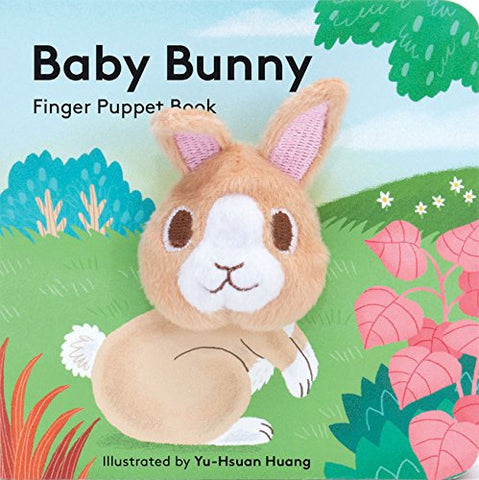 Chunky Mini Finger Puppet Board Book - Baby Bunny