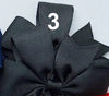"Grosgrain 3"" Double Loop Bow Pony Tail Tie 2 PC Set (CLICK TO SELECT COLORS)"