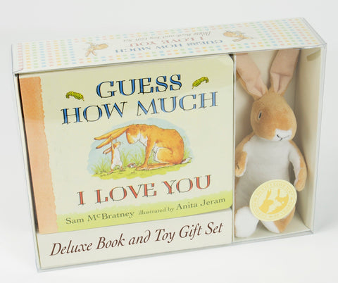 Guess How Much I Love You - Deluxe Book & Plush Toy Set