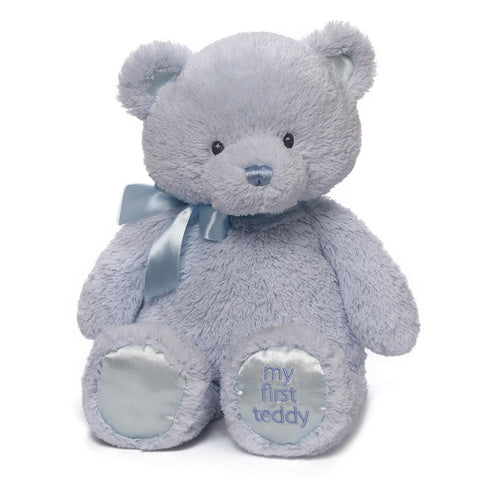 "Gund, My 1st Teddy Bear Plush Toy, 18"" - Baby Blue"