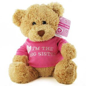 Gund - I'm The Big Sister T-Shirt Teddy Bear, 12""