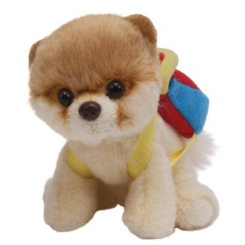 "Boo - The World's Cutest Dog, Itty Bitty, Stuffed Plush, 4"", Backpack"