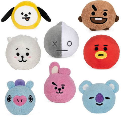 BT21 Official Line Friends Slow Rise Plush Heads (Click for Options)