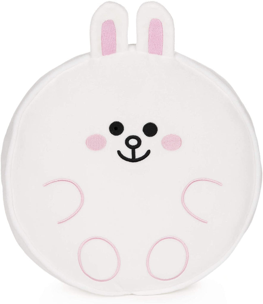 Line Friends Official Plush Collectible Toy Character Pillow, Cony Bunny