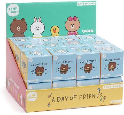 Line Friends Official Blind Box Series 1, A Day With Friends