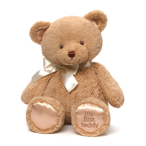 "Gund, My 1st Teddy Bear Plush Toy, 18"" - Tan"