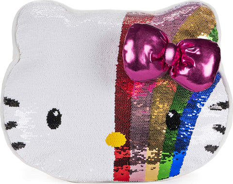 Gund Official Sanrio Hello Kitty Plush Color Change Sequin Pillow