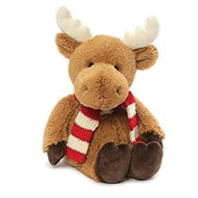 "Gund, Merry Moose, 14"" Plush Toy"