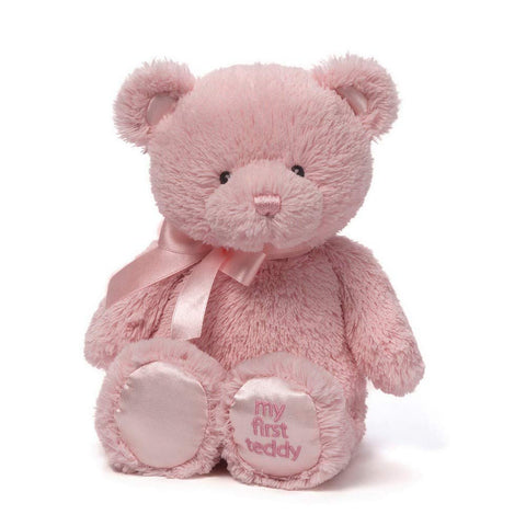 "Gund, My 1st Teddy Bear Plush Toy, 18"" - Soft Pink"