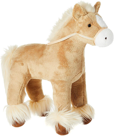 Gund, Standing Soft Plush Clydesdale Horse, 15""