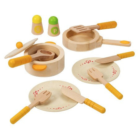 Hape - Wooden Gourmet Kitchen Starter Set