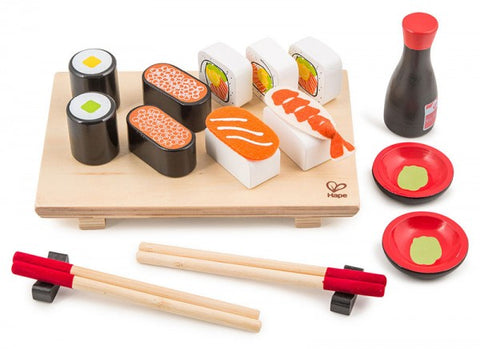 Hape - Sushi Set for Two, Wooden Toys
