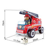 Hape Germany - Red Fire Truck Play Set