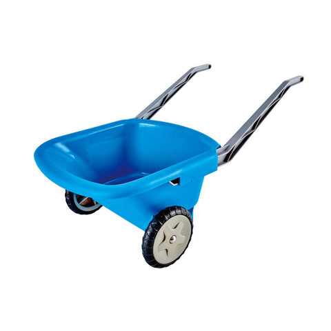 Hape Germany - Beach & Garden Wheel Barrow, Blue