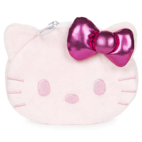 Hello Kitty Plush Coin Purse, Pink