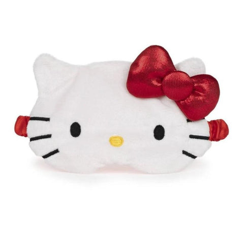 Hello Kitty Plush Satin Lined Sleep Mask