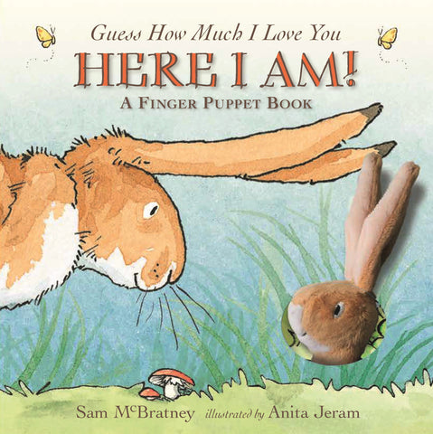 Here I Am, Guess How Much I Love You Finger Puppet Board Book