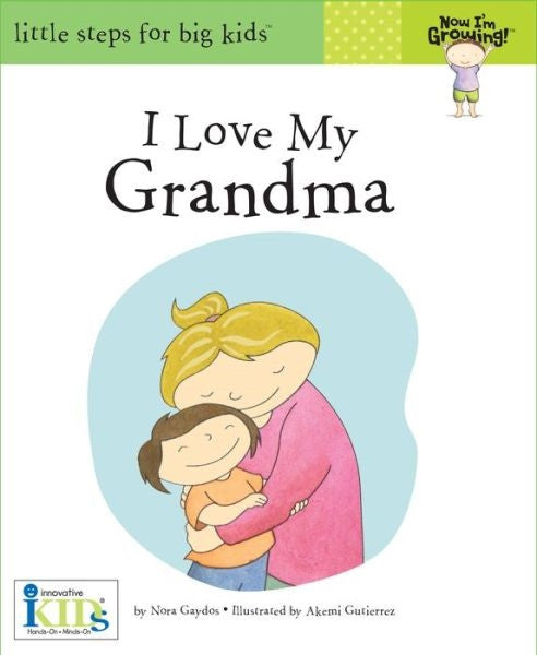 I Love My Grandma Book