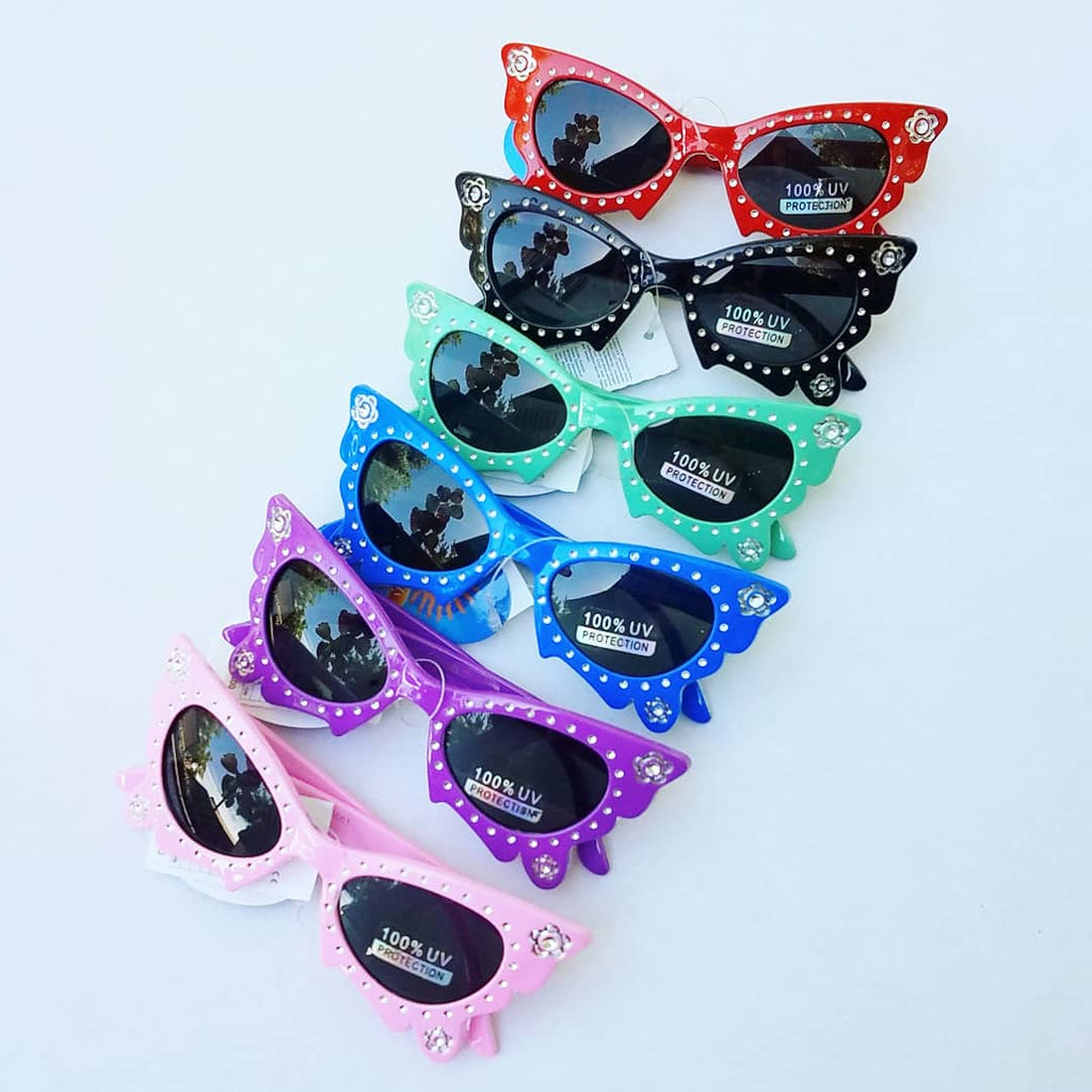 UV protection, kids sparkle, butterfly wing, sunglasses, plastic butterfly frame, sparkly dark sunglasses for toddlers