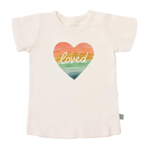 Organic Cotton S/S T-Shirt, Finn & Emma, Loved