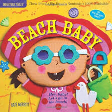 Baby Book - Indestructibles, Washable Book - Beach Baby
