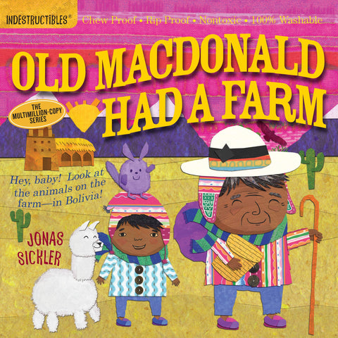Book - Indestructibles, Chew-Proof, Washable Book - Old MacDonald Had a Farm