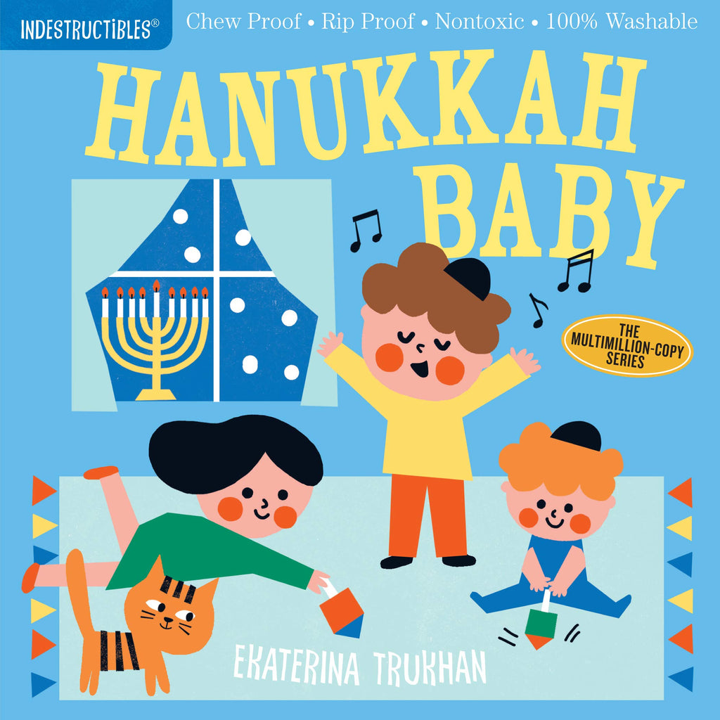 Book - Indestructibles, Chew-Proof, Washable Book - Hannukah Baby