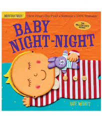 Baby Book - Indestructibles, Washable Book - Baby Night-Night
