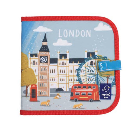 Cities of Wonder Erasable, Reusable Travel Art Book - London