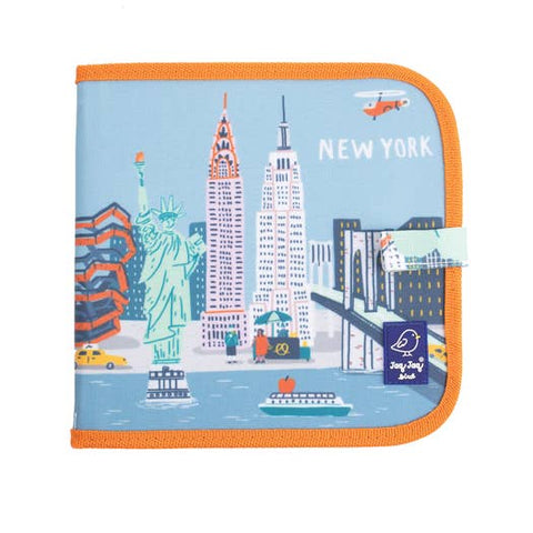 Cities of Wonder Erasable, Reusable Travel Art Book - New York