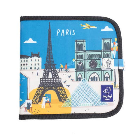 Cities of Wonder Erasable, Reusable Travel Art Book - Paris