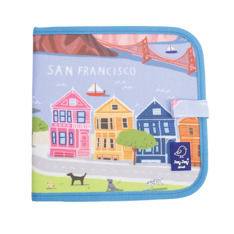 Cities of Wonder Erasable, Reusable Travel Art Book - San Francisco