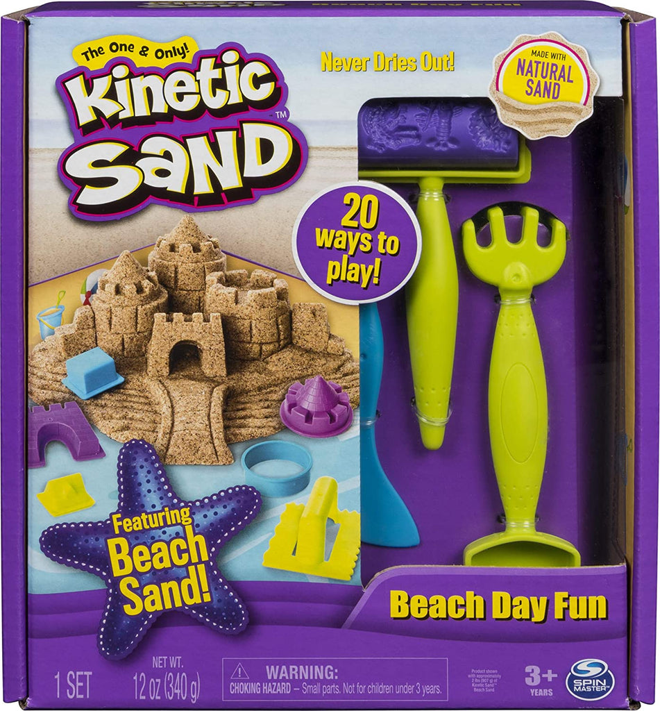 Kinetic Sand, Beach Play Set, Front