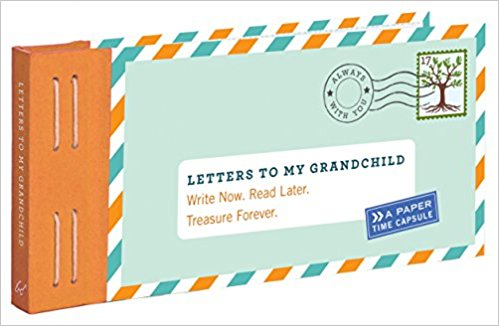 Baby Shower Gift, Letters to My Grandchild Time Capsule Keepsake