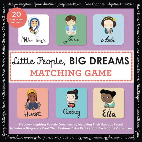 Little People, Big Dreams - Women Heroes, Matching Game
