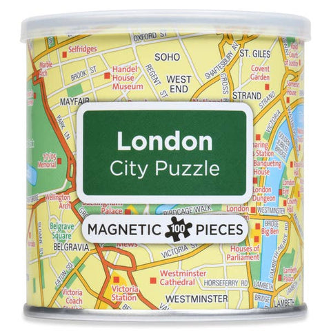 Magnetic 100 PC City Puzzle, London
