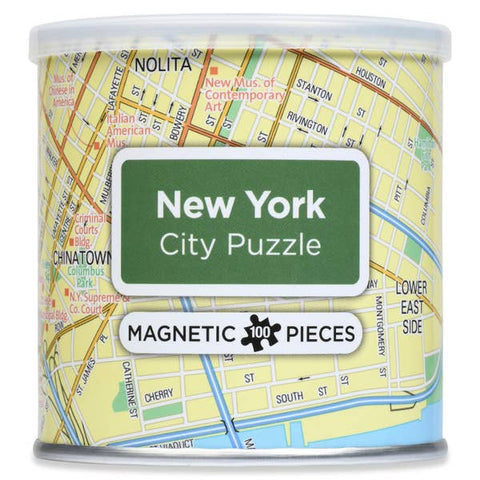 Magnetic 100 PC City Puzzle, New York