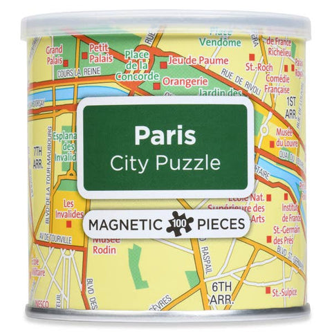 Magnetic 100 PC City Puzzle, Paris