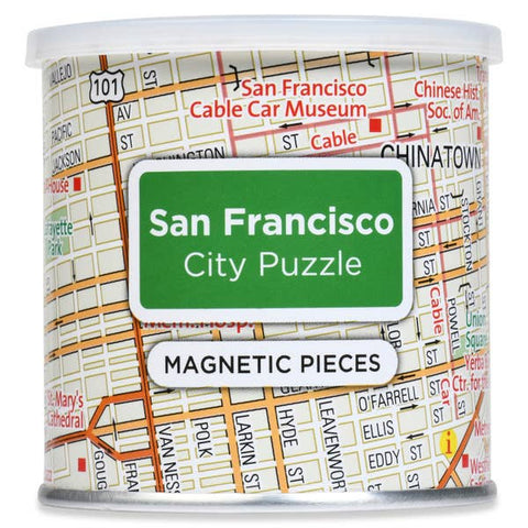 Magnetic 100 PC City Puzzle, San Francisco